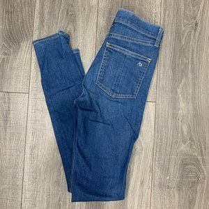 Rag and Bone 10 Inch Skinny Jeans Size 24